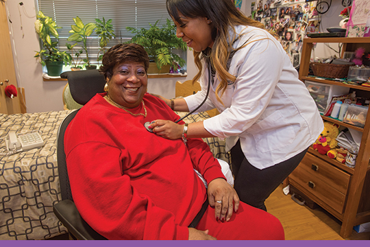 Around-the-clock care from registered nurses