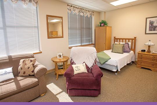 Home room living area